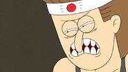 S6E26.112 Jerry's Death Glare to Mordecai