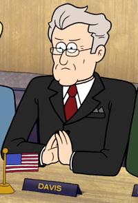 S6E08 President Davis