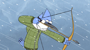 S4E26.224 Mordecai Pulls Out a Bow and Arrow