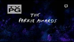 S7E02 The Parkie Awards Title Card
