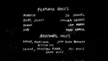 S6E19 Gamers Never Say Die Credits