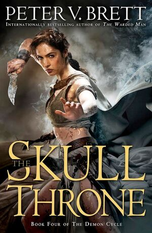 The Skull Throne US cover
