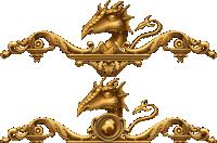 Easter dragon