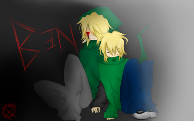 File:Ben drowned and ben normal by creepypasta girl-d6roqya.png