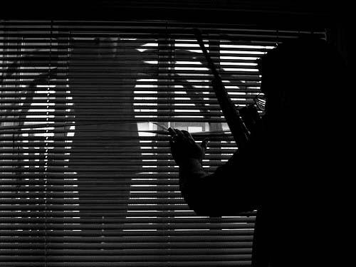 Slender man window