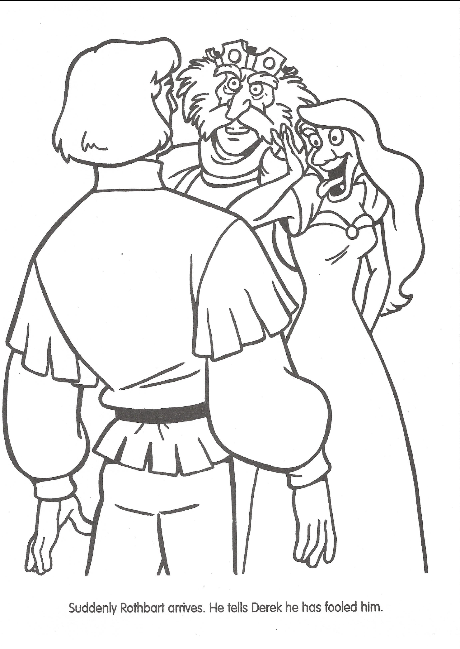 Swan princess coloring pages free - Swan Princess Official Coloring Page 43