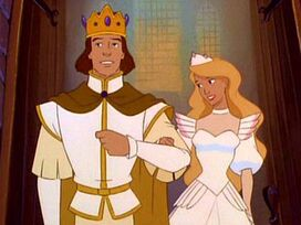 Derek and Odette married