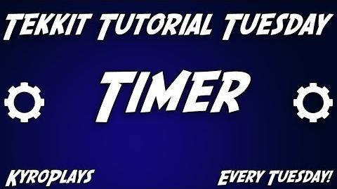 Timer Tutorial Tekkit