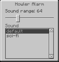 Howler alarm