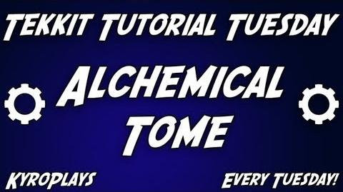 Alchemical Tome Tutorial Tekkit