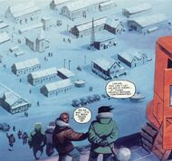 Campo del Sur (1) - The Thing From Another World (Comic)