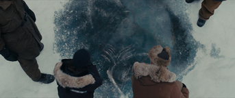 The Thing in the ice - The Thing (2011)