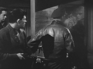 The men are unexpectedly attacked by the Thing - The Thing (1951)