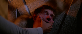 Garry is assimilated by Blair-Thing -The Thing (1982)