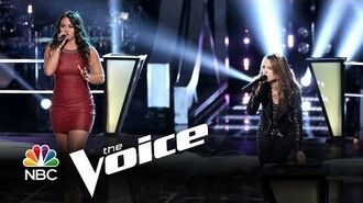 "Tess Boyer vs. Bria Kelly ""Piece of My Heart"" (The Voice Highlight)"