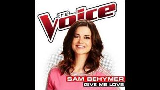 Sam Behymer - Give Me Love - Studio Version - The Voice USA 2014