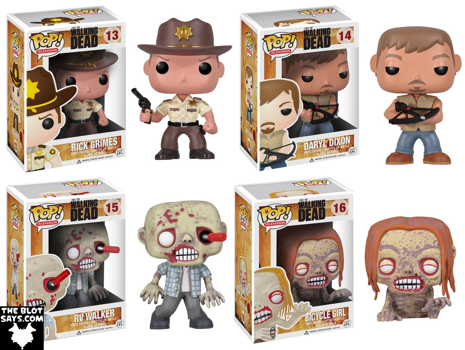 Archivo The Walking Dead Pop Television Series 1 By Funko