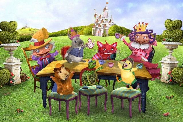 the wonder pets adventures in wonderland game