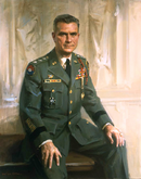 William A. Knowlton painting by Everett Raymond Kinstler
