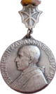 Medal of Pope Pius XII