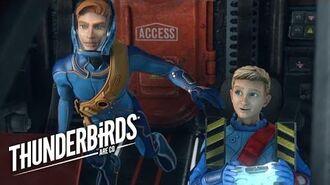 Alan Helps John Get Back In Thunderbird 5 Thunderbirds Are Go Clip