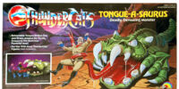 LJN Toyline: Tongue-A-Saurus