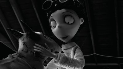 Victor and Sparky 2 in Tim Burton's Frankenweenie