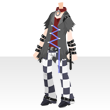 Checkeredrocksuitbk