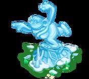 Decoration 3x3 ice statue tn@2x