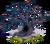 Decoration 2x2 debris tree mist tn@2x