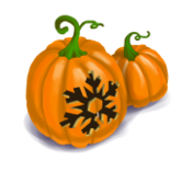 Decoration 1x1 jackolantern ice tn@2x