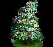 Decoration 3x3 christmas tree lightsnow tn@2x