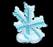 Decoration 1x1 snowflake 3 tn@2x