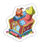 Sticker bouncecastle@2x