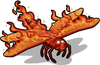 Flame skimmer single