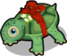 Christmas turtle single