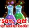 50 off crossbreeds hud