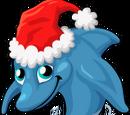 Christmas Dolphin