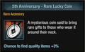 5th Anniversary - Rare Lucky Coin package view.png