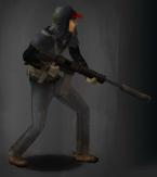 Survivor with ar supressed