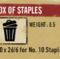 Box of Staples Thumbnail