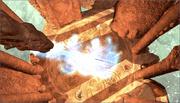 Disc dragons fire