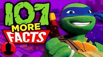 107 MORE Facts About Teenage Mutant Ninja Turtles! (ToonedUp 154) @ChannelFred