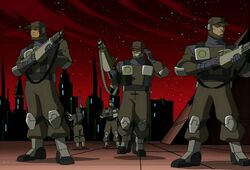 Federation Troops