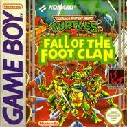 Fall of the Foot Clan Cover