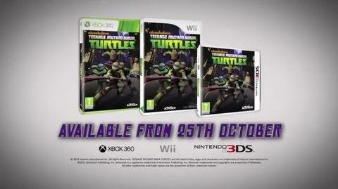 Nickelodeon's Teenage Mutant Ninja Turtles Game Trailer (Wii, Xbox360, 3ds)