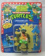 Lifeguard leo figure , sewer spitting series 1992