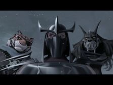 Shredder and his Henchmen