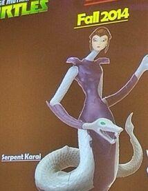 Karai Mutant figure