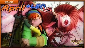 April + Leo VS Chimera! 🐢Teenage Mutant Ninja Turtles Legends (TMNT Legends)